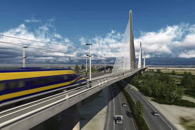 Nation's 1st High Speed Rail Project Breaks Ground In CA