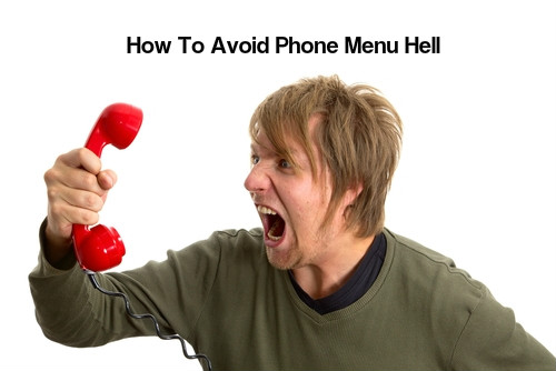 Tricks To Avoid Phone Menu Hell