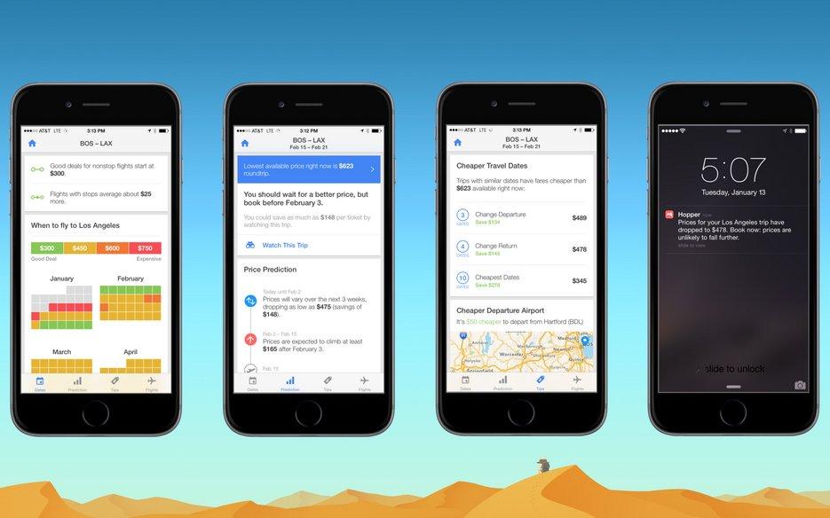Top Travel App For 2015 – Hopper