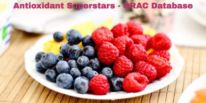 Superstar Superfoods! Top ORAC Value Database